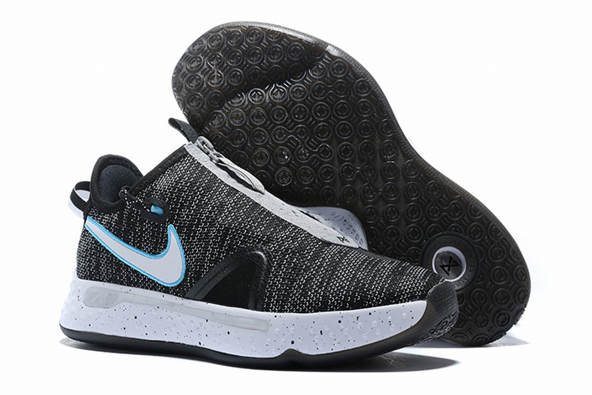 Nike PG 4 Men Shoes Black Grey