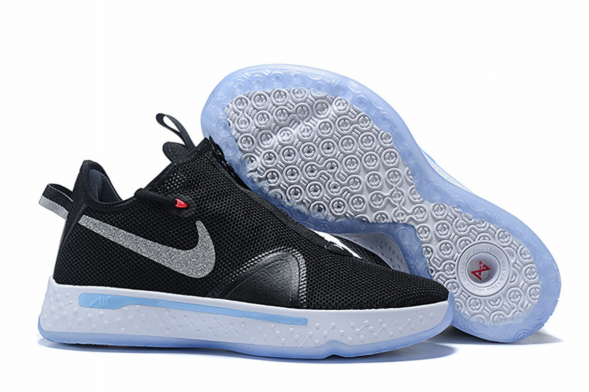 Nike PG 4 Men Shoes Black White